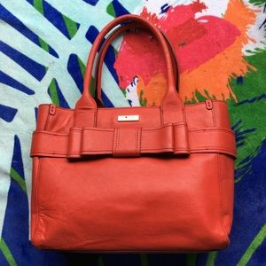 Authentic Kate Spade Leather Satchel Bag